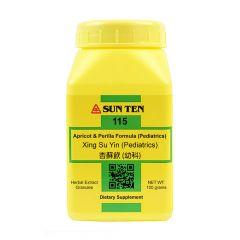 Sun Ten Apricot & Perilla Formula (Pediatrics) 115 Granules