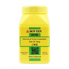 Sun Ten Chin-chiu & Tu-Huo Combination 207M Granules
