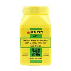 Sun Ten Gastrodia & Uncaria Combination 331 Granules