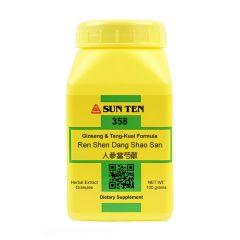 Sun Ten Ginseng & Tang-Kuei Formula 358 Granules