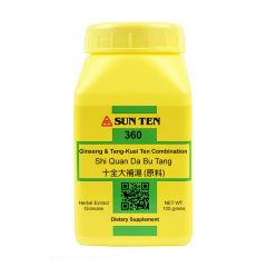 Sun Ten Ginseng & Tang-Kuei Ten Combination 360 Granules