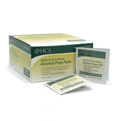 Alcohol Wipes - Prep Pads