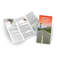 Acupuncture & Motor Vehicle Accidents Brochure