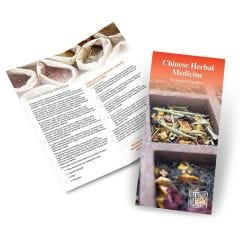 Chinese Herbal Medicine Brochure