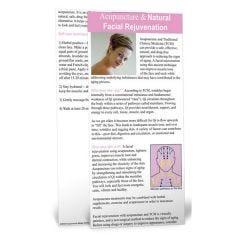 Facial Rejuvenation Education Card