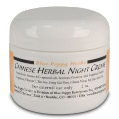Blue Poppy Night Creme