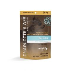 Charlotte's Web CBD Chews For Dogs - Calming