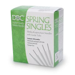 DBC™ Spring Singles Acupuncture Needles