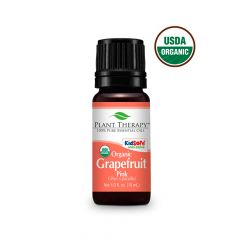Plant Therapy Organic Grapefruit Pink Essential Oil