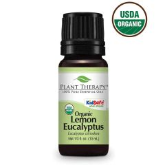 Plant Therapy Organic Lemon Eucalyptus Essential Oil