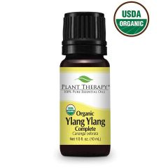 Plant Therapy Organic Ylang Ylang Complete Essential Oil