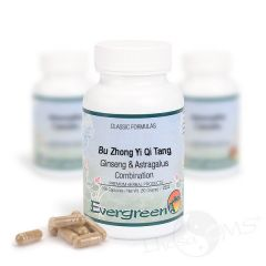 Evergreen Ginseng & Astragalus Combination - Capsules