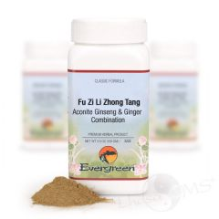 Evergreen Aconite Ginseng & Ginger Combination - Granules