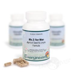 Evergreen Apricot Seed & Linum Formula - Capsules