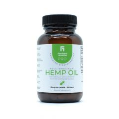 Functional Remedies Pro Hemp Oil Capsules 25mg