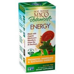 Host Defense Mushrooms MycoBotanicals Energy Capsules