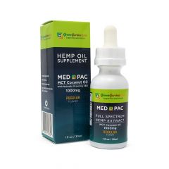 Green Garden Gold Med Pac CBD Oil 1000mg