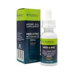 Green Garden Gold Med Pac CBD Oil 300mg