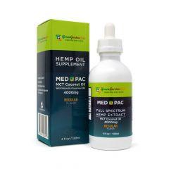 Green Garden Gold Med Pac CBD Oil 4000mg