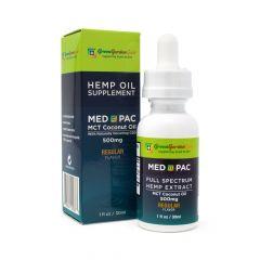Green Garden Gold Med Pac CBD Oil 500mg