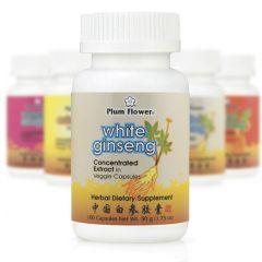 Mayway Plum Flower Herbal Extract Capsules White Ginseng