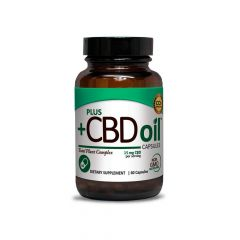 Plus CBD Oil Capsules 15mg
