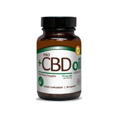 Plus CBD Pro Oil Capsules 25mg