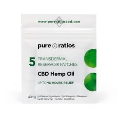 Pure Ratios CBD Patch 5 Pack