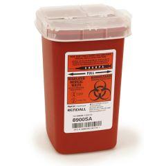 1 qt. Sage Biohazard Container