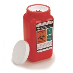1.4 qt. Stericycle® Biohazard by Mail