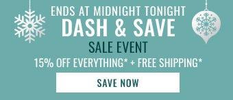 Dash & Save