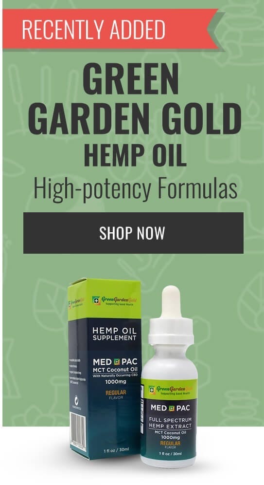 Green Garden Gold Hemp Oil