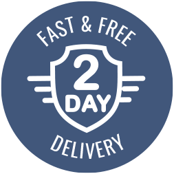 2 Day Fast and Free Delivery