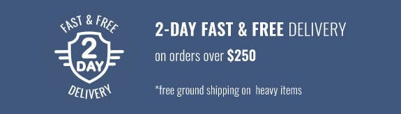 2-Day Fast & Free Delivery